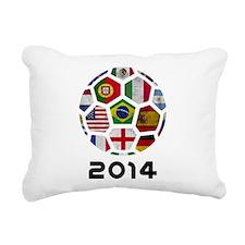 World Cup 2014 Rectangular Canvas Pillow