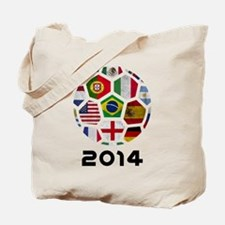 World Cup 2014 Tote Bag