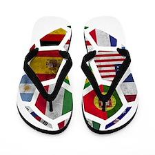 World Cup 2014 Flip Flops