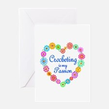 Crocheting Passion Greeting Card