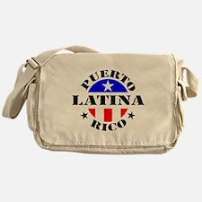 Puerto Rico Latina Messenger Bag