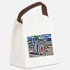 Cool Hot rod Canvas Lunch Bag