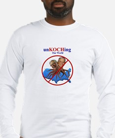 unKOCHing Our World Long Sleeve T-Shirt