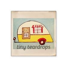 tiny teardrops vintage pic Sticker
