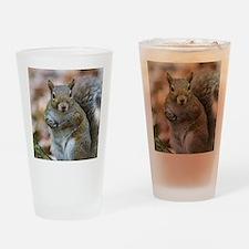 Cute Squirrel Drinking Glass