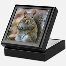 Cute Squirrel Keepsake Box