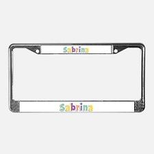 Sabrina Spring14 License Plate Frame