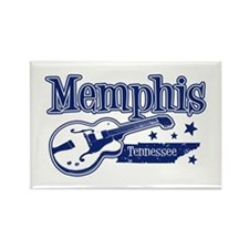 Memphis Tennessee Rectangle Magnet