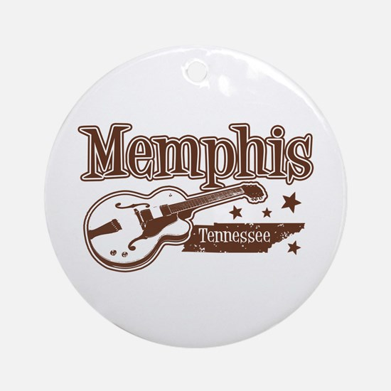 Memphis Tennessee Ornament (Round)