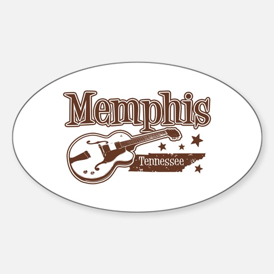 Memphis Tennessee Oval Decal