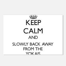 Keep calm and slowly back away from Yokais Postcar