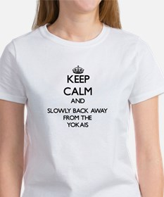 Keep calm and slowly back away from Yokais T-Shirt