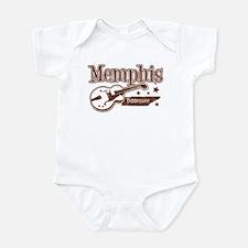 Memphis Tennessee Infant Bodysuit