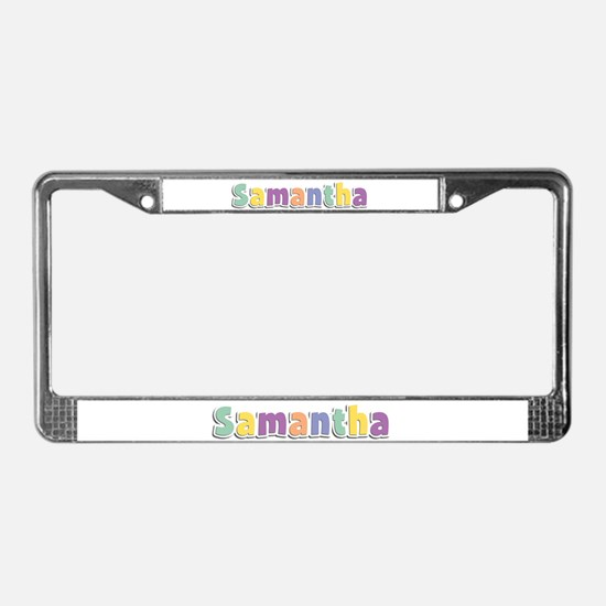 Samantha Spring14 License Plate Frame