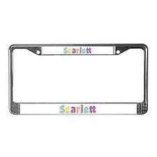 Scarlett Spring14 License Plate Frame