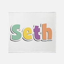 Seth Spring14 Throw Blanket