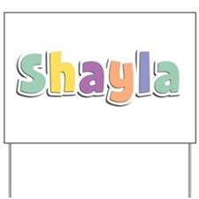 Shayla Spring14 Yard Sign