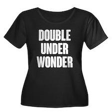 Double Under Wonder Plus Size T-Shirt
