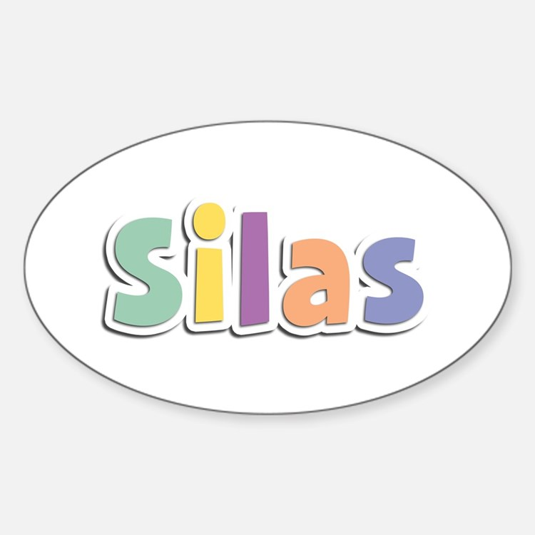 Silas Spring14 Oval Decal