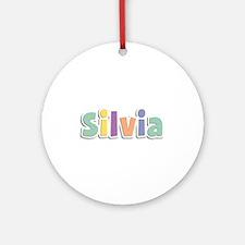 Silvia Spring14 Round Ornament