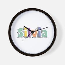 Silvia Spring14 Wall Clock
