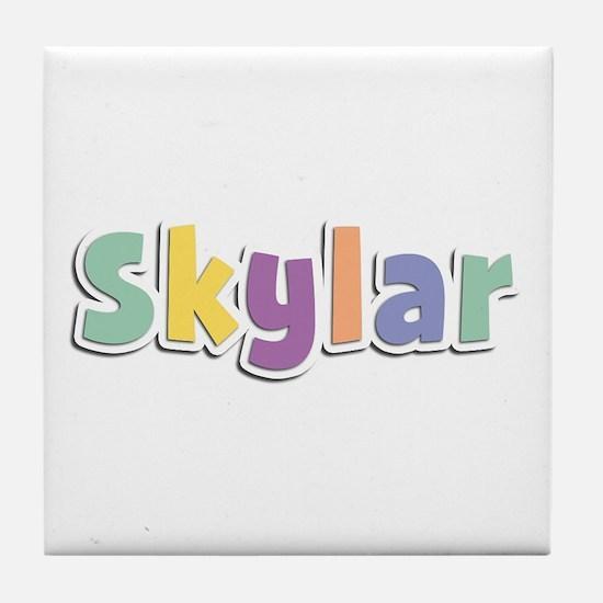 Skylar Spring14 Tile Coaster