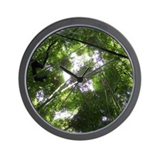 Forest Canopy (Sugar Skull) Wall Clock