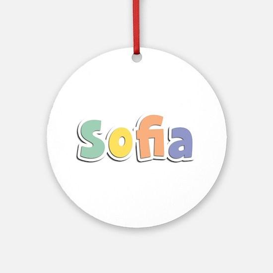 Sofia Spring14 Round Ornament