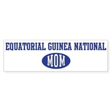 Equatorial Guinea national mo Bumper Bumper Sticker