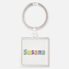 Susana Spring14 Square Keychain