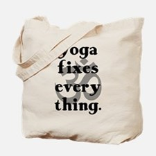 Yoga Fixes Everything Tote Bag