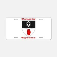 County Tyrone COA Aluminum License Plate