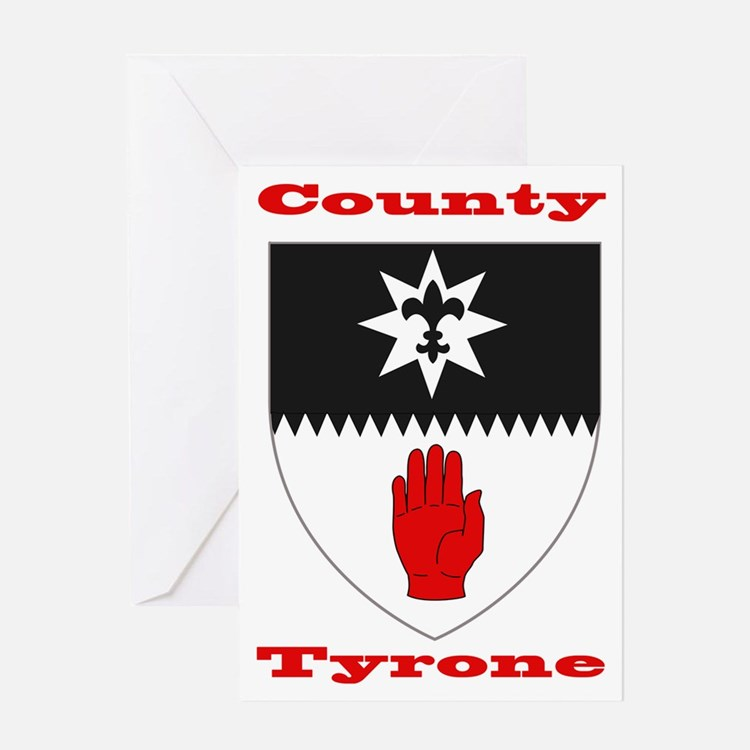 County Tyrone COA Greeting Cards