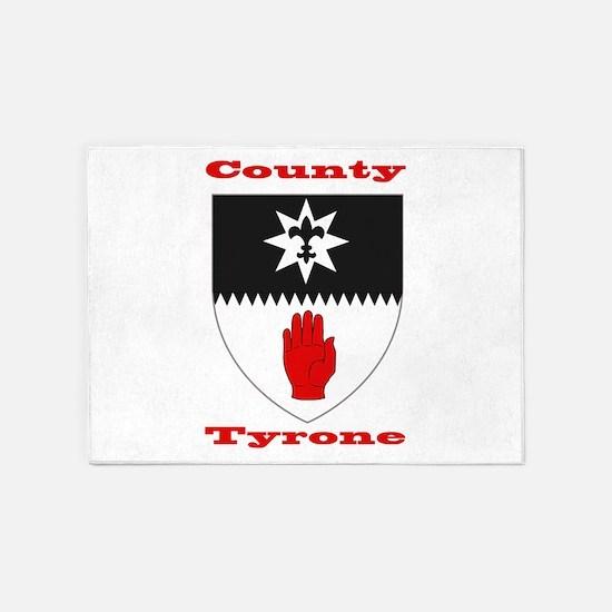County Tyrone COA 5'x7'Area Rug