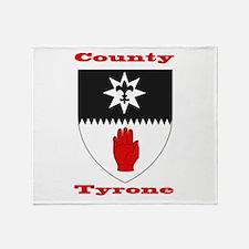 County Tyrone COA Throw Blanket
