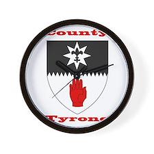 County Tyrone COA Wall Clock