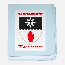 County Tyrone COA baby blanket