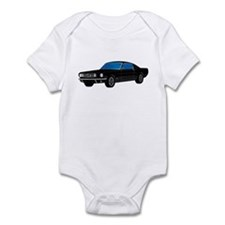 Cute 1968 ford mustang fastback Infant Bodysuit