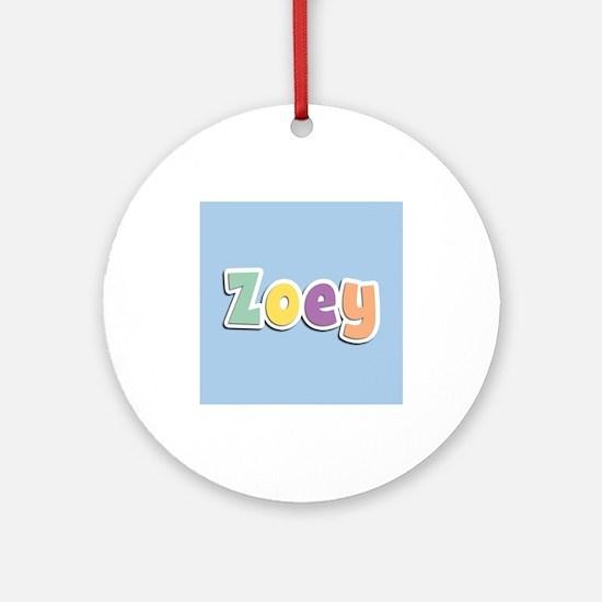 Zoey Spring14 Ornament (Round)