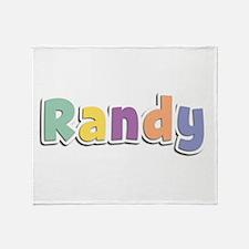Randy Spring14 Throw Blanket