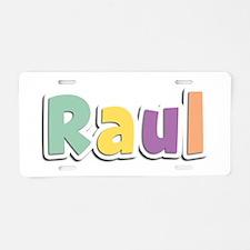 Raul Spring14 Aluminum License Plate
