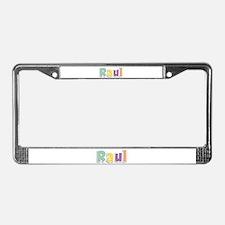 Raul Spring14 License Plate Frame