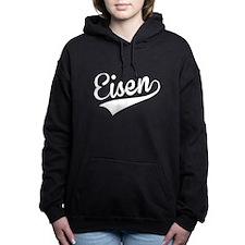 Eisen, Retro, Women's Hooded Sweatshirt