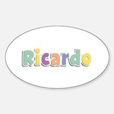 Ricardo Spring14 Oval Decal