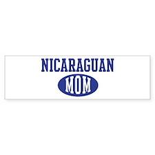 Nicaraguan mom Bumper Bumper Sticker