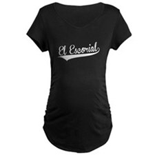 El Escorial, Retro, Maternity T-Shirt