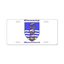 County Waterford COA Aluminum License Plate