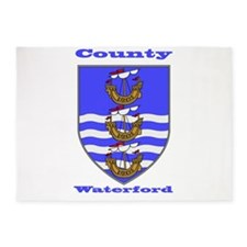 County Waterford COA 5'x7'Area Rug