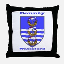 County Waterford COA Throw Pillow