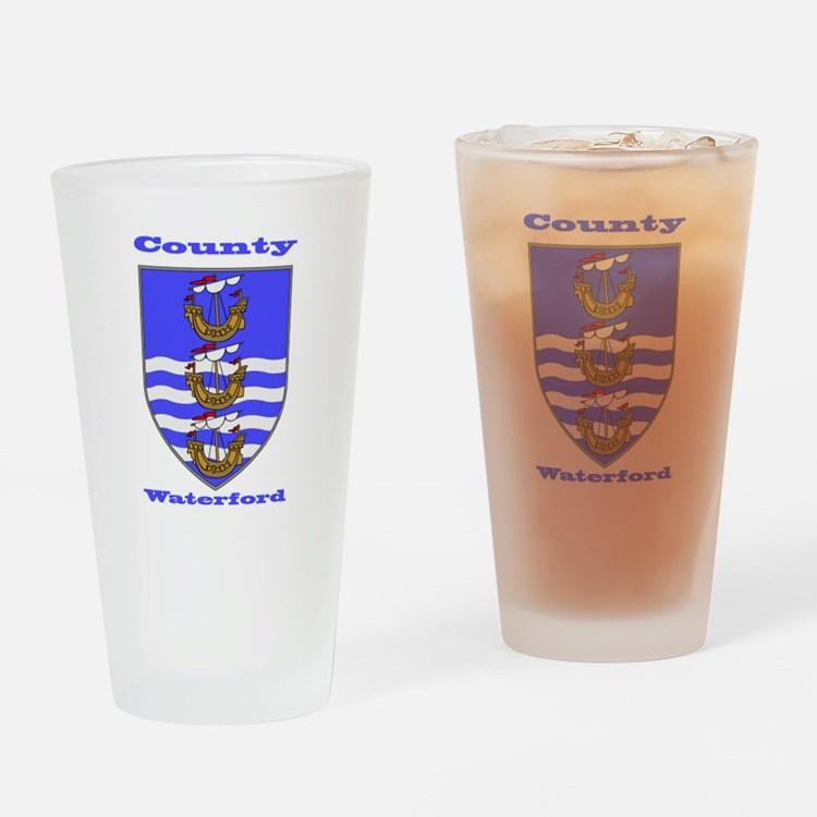 County Waterford COA Drinking Glass
